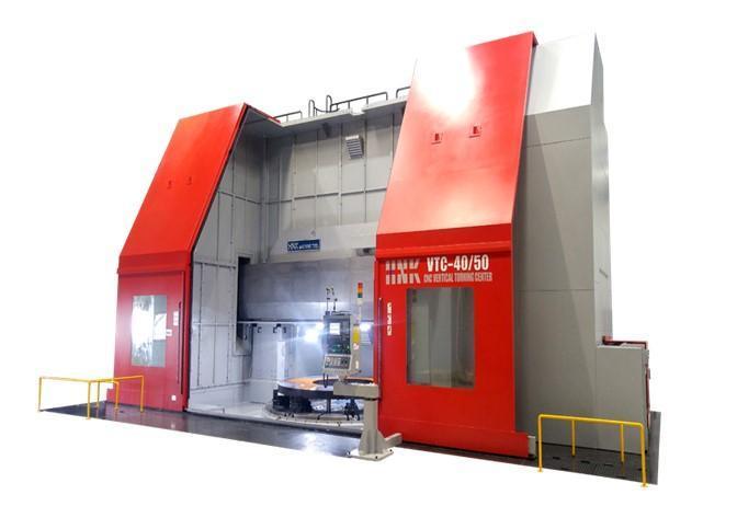 MÁY TIỆN ĐỨNG CNC HNK Korea dòng VTC |Máy tiện CNC hạng nặng