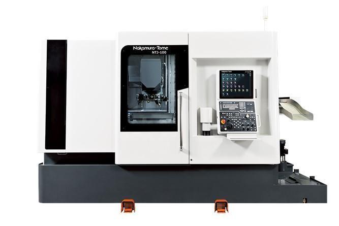 Máy tiện CNC hai trục chính Nakamura Tome NTJ100|Giá ưu đãi