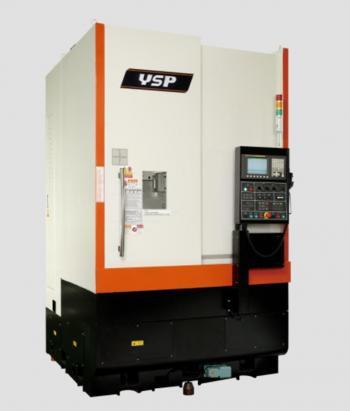 MÁY TIỆN ĐỨNG CNC YSP dòng VL-750 HR/HL