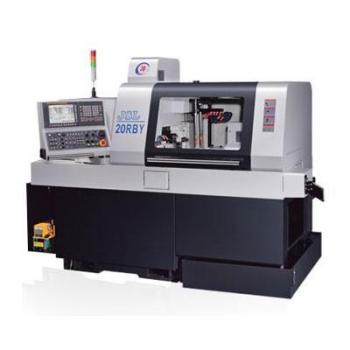 MÁY TIỆN ĐÙN CNC THỤY SĨ hãng JINN FA dòng JSL-20RB/RBY