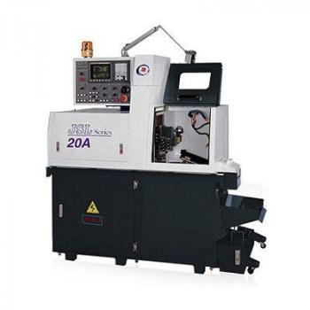 MÁY TIỆN ĐÙN CNC THỤY SĨ hãng JINN FA dòng JSL-20/20A