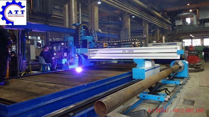 MÁY CẮT TÔN TẤM PLASMA CNC hãng AMG 4 series|Cập nhật 9/2021